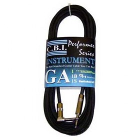 GA1-30R 30FT GUITAR CABLE with 1 x RIGHT ANGLE