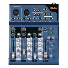 AVE Strike 4 PA Mixer With Delay 4 Channel
