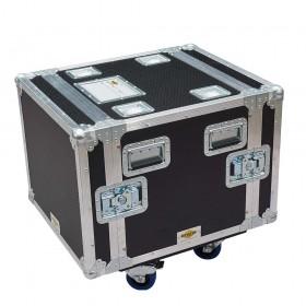 8RU Floating Rack Case